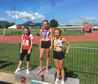 12yr girls 100m