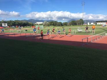 9yr girls 60m hurdles