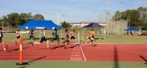 U16 Mens 100m final