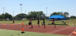 U16 Mens 200m final